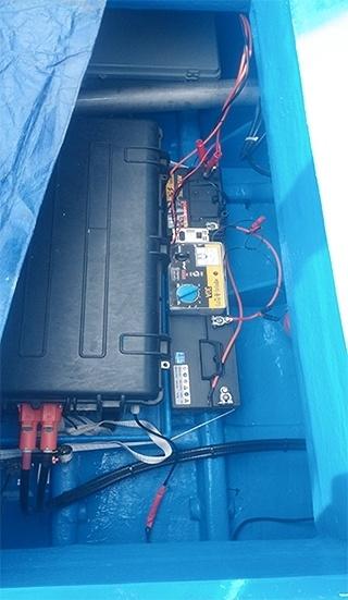 운항경비 절감을 위한 총톤수 3톤급 어선용 듀얼 추진시스템